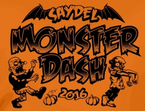 Saydel Monster Dash 5k/1Mile logo