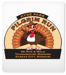 2016 Hyde Park Pilgrim Run logo