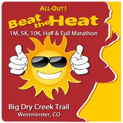 2019 All-Out Beat the Heat 1/5/10/Half/Full logo