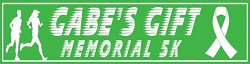 Gabes Gift Memorial 5K and 1 Mile logo