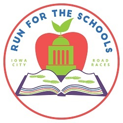 Iowa City Run for Schools logo