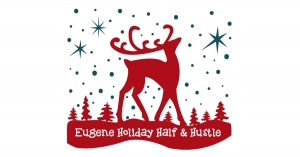 Eugene Holiday Half & Hustle logo