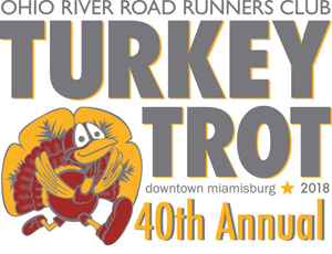 ORRRCs 40th Annual Turkey Trot - 2018 logo