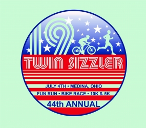 44th Annual Twin Sizzler logo