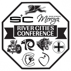 2019 River Cities Conference XC Meet logo