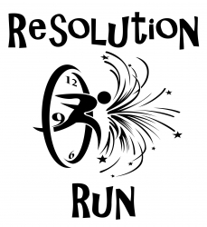 Resolution Run 5K logo