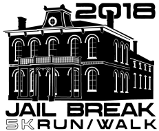 Boonville Now Jailbreak 5K run/walk logo