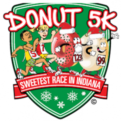 Donut 5K Holiday Run/Walk logo