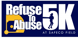Refuse To Abuse 5K At Safeco Field logo