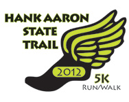 Hank Aaron State Trail 5K Run/Walk 2012 logo
