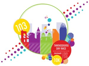 103rd Thanksgiving Day Race - 2012 logo
